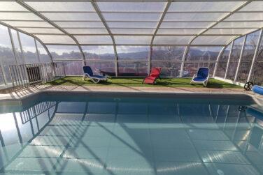 casa rural grupos grandes con piscina